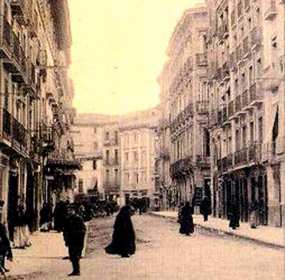 Coso Bajo de Huesca, principios siglo XX