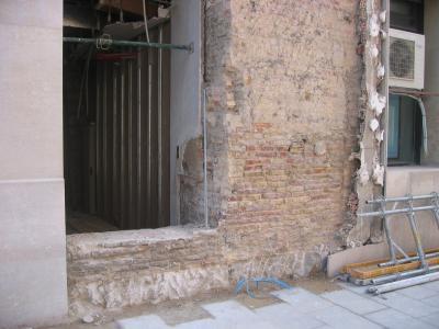 APUDEPA pide a las administraciones el máximo celo con los restos  del palacio de la Diputación General del Reino
