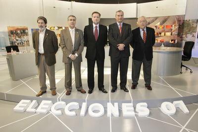 """En el debate entre los cinco candidatos a la presidencia de la Diputación General de Aragón ni se habló de cultura ni se mencionó, ni una sola vez, la palabra """"patrimonio"""""""