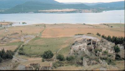 Artieda y la Asociación Río Aragón a favor de la seguridad estricta en el embalse de Yesa.