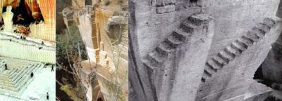 Circuito botánico en una antigua cantera de Ciudadela (Menorca)