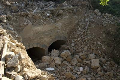 APUDEPA denuncia la destrucción del histórico molino de Canova, edificio del siglo XVI, en Ricla