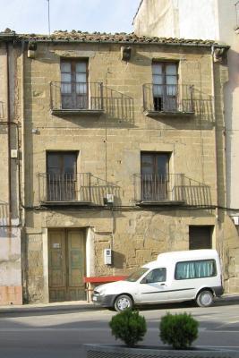 APUDEPA denuncia que el Ayuntamiento de Ayerbe ya ha dado licencia para el derribo de la Casa Normante, del siglo XVI