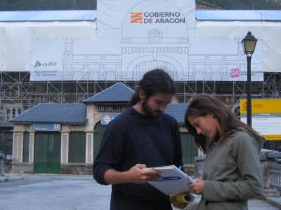 APUDEPA inicia una campaña de sensibilización por la Estación de Canfranc