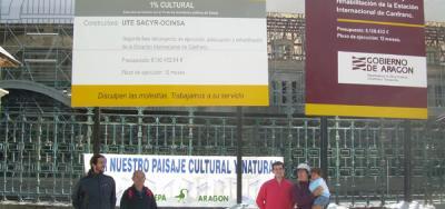 Las palabras del alcalde de Canfranc arrojan más dudas sobre las irregularidades en el proceso de rehabilitación de la Estación de Canfranc