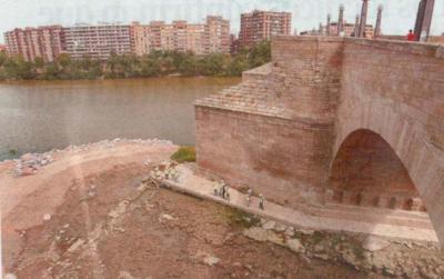 Comunicado de Apudepa sobre últimos datos del Puente de Piedra de Zaragoza