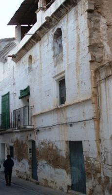 """APUDEPA denuncia el derribo de un edificio del siglo XVII por el Ayuntamiento de Caspe para la construcción de un """"centro cultural"""""""