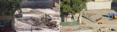 APUDEPA pide a la Dirección General que confirme o desmienta que se han destruido restos en el Balcón de San Lázaro