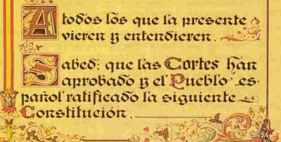 """La """"otra"""" Constitución"""