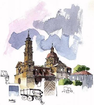 El Monasterio de Santa Fe, una curiosidad urbanística y una vergüenza  histórica