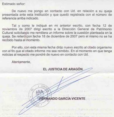 La Diputación General niega, por 6ª vez, la información que le solicita el Justicia de Aragón sobre el Teatro Fleta