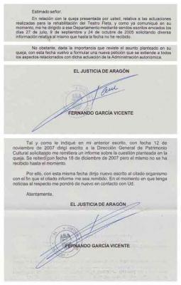 Pero ¿por qué miente (impunemente) el Gobierno de Aragón?