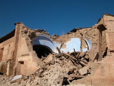 APUDEPA visita la Ermita hundida en Torrijo de la Cañada (Zaragoza)
