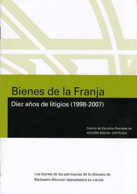 Conferencia de D. Federico Aznar sobre los bienes de las parroquias de la Diócesis de Barbastro-Monzón y el Monasterio de Sijena (Huesca)