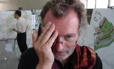 El arquitecto paisajista Peter Latz