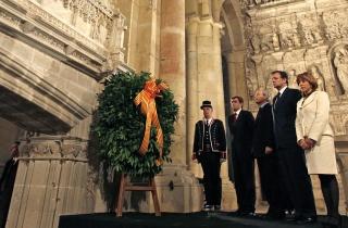 APUDEPA pide al presidente Iglesias que apele en Poblet a la unión fraternal de la Corona aragonesa para que se le permita a Aragón gozar de su patrimonio cultural