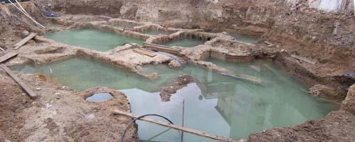 """APUDEPA califica de """"auténtica aberración"""" el entierro de los más importantes restos aparecidos en la ciudad de Calatayud"""