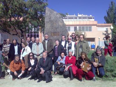 Homenaje a Joaquín Ascaso, 25 de octubre de 2008