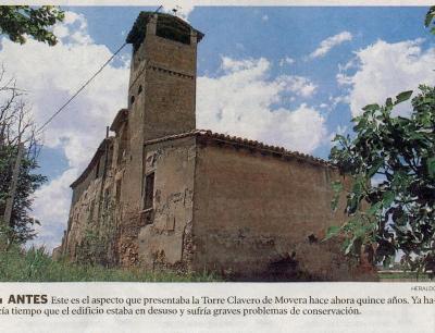 El derribo de la torre de Clavero en Movera o la pérdida de identidad