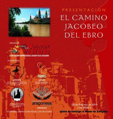 26 de febrero. Acto cultural jacobeo en la iglesia de Santiago el Mayor de Zaragoza