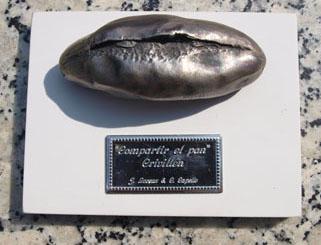Compartir el pan. Homenaje de Apudepa  a Pablo Serrano y a Crivillén