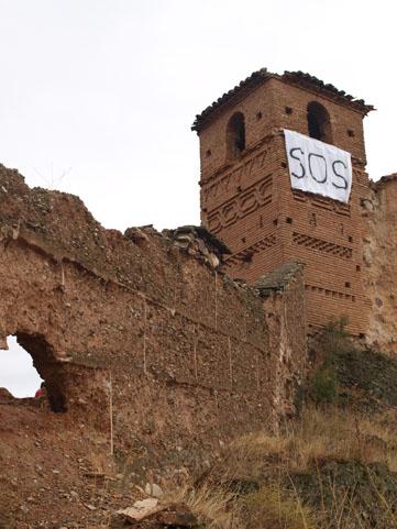 rEvive Villanueva de Jalón, un pueblo abandonado,  domingo 6 de noviembre.