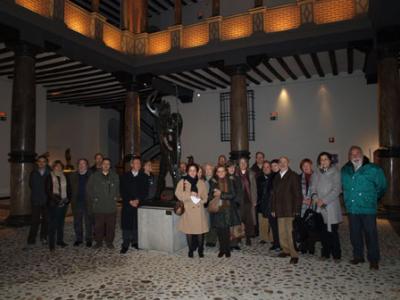 Visita de Apudepa al Museo Pablo Gargallo de Zaragoza, 16 de febrero de 2012