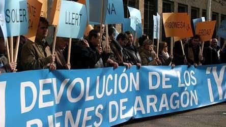 Sentencia firme del TSJC: los Bienes de la Franja pertenecen a Aragón