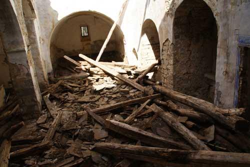 PP-PAR  niegan ayuda en las Cortes para recuperar la  ruina de la iglesia de Otal, Monumento Nacional