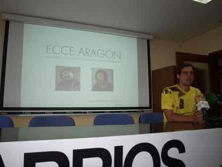 La prensa sobre los eccehomos de Aragón presentados por Apudepa