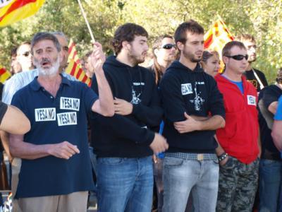 Artieda hace frente a la Confederación Hidrográfica del Ebro