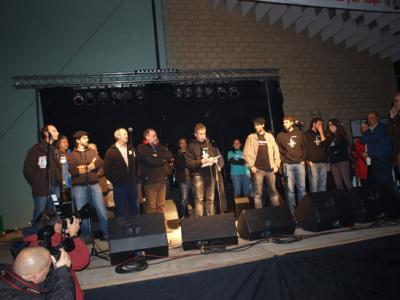 Ayer día diez de noviembre en Artieda. Homenaje histórico a los pueblos afectados por los grandes embalses