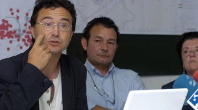 """Antonio Casas, geólogo, """"El recrecimiento de Yesa no parará los deslizamientos"""""""