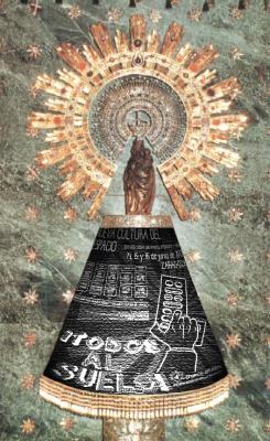La Virgen del Pilar diceeeeeee, que no quiere ser banqueraaaaaaa...... (¡Todos al suelo! este finde en Zaragoza)