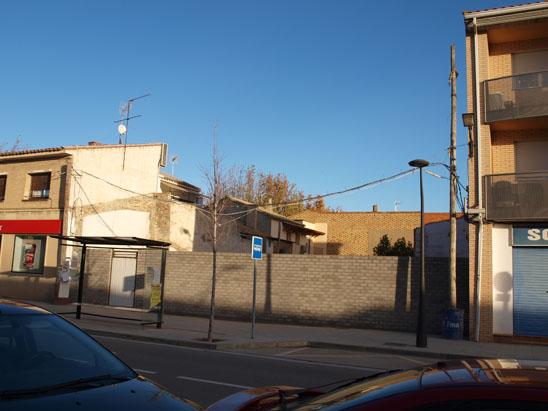 Primer aniversario del derribo de la casa de Pradilla en Villanueva de Gállego