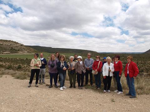 Visita de Apudepa a Ariño- Sima de San Pedr (Oliete)- Alloza, por Ángel Tomás del Río.