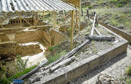 IU denuncia el abandono del patrimonio arqueológico  aragonés