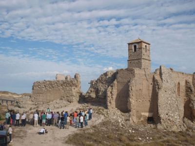 Hoy en Rodén. Inauguración de la restauración de la  torre del pueblo antiguo