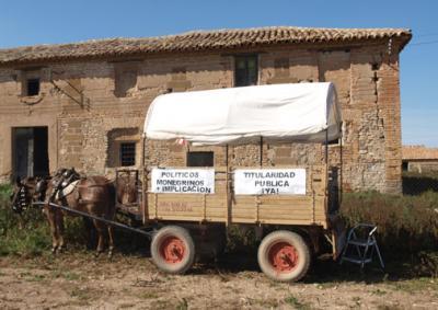 El pasado domingo día 5 de octubre en la Cartuja de Monegros: Presentación del Informe de expertos impulsado por Apudepa