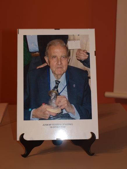 XIV Encuentro de Asociaciones Jacobeas del Ebro en Vilalba dels  Arcs, Tarragona: Homenaje a Juan María Ferrer Figueras, In Memoriam