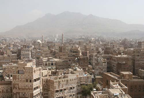 La ciudad histórica de Saná sufre los bombardeos de Arabia Saudita