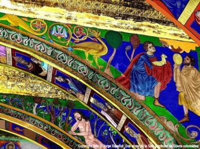 Conferencia de Jorge Español en Huesca sobre los bienes de Sijena