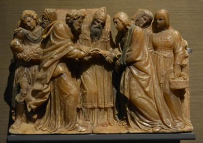 Chalaneo entre dirigentes políticos sobre los bienes del monasterio de Sijena (Huesca)  despositados en el MNAC y en el Museu Diocesà i Comarcal de Lleida